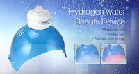 얼굴을위한 수소 얼굴 증기선 미용 치료 사용 LED 가벼운 치료와 여드름 제거 모이스춰 라이징 피부 DHL 무료 배송
