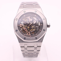 Luxury brand men' s watch royal oak series 15204OR silve...