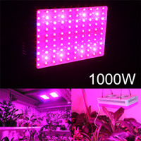 Stock USA Grow Light Full Spectrum IR UV Veg Flower 600/1000 / 1200W Double Chips LED Grow Lights Plantes intérieures lampe pour la croissance