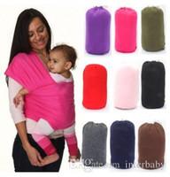 Eslinga de lactancia Eslinga Bebé Estiramiento de la envoltura Portador Infantil Bebé Elástico Cochecitos Gallus Niños Lactancia materna Honda Hipseat Mochilas J481