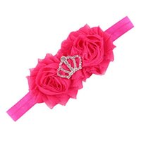Wholesale- Newly Design Baby Girls Crown Headbands Elastic H...