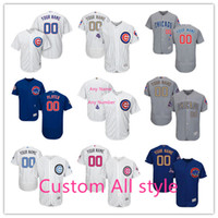 Personalized Men' s Chicago Cubs Custom Jerseys High Qua...