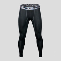 wholesale 2017 winter PRO tight pants man running fitness tr...