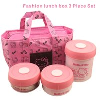 Fashion Lunch Box 3 Pieces, With Insulation, Waterproof, Moistu...