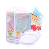 Lameila Brand Cosmetico Silicone Spugna Blender Trasparente Clean Soft Makeup Spugne Puff Easy Flawless Facial Make up Tools