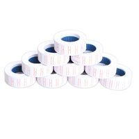 Wholesale- New 10x Paper Tag Price Label Sticker Single Row for MX-5500 Price Gun Labeller 21mmX12mm Hot Sale