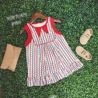 Stars Printing Dresses for Girl Back to School Clothes Cotto...
