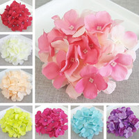 15CM Artificial Hydrangea Decorative Silk Flower Head For We...