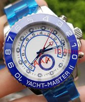 2018 Blue Luxury Brand Watch YACHT AAA MASTER 44mm Automatic...