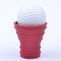 Red Golf Ball Pick Up Picker Retriever Grabber Suction Cup F...