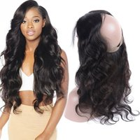 Pre Plucked 360 Lace Frontal Closure Brazilian Virgin Hair B...