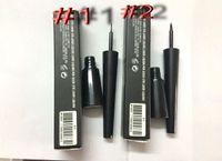 DHL 무료 배송 HOT 새로운 메이크업 최고 품질 # 1 # 2 블랙 방수 액체 아이 라이너 2.5ml를