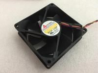 Y.S.TECH NFD128125BB-2F DC 12V 5.40W 3-poliger 3-poliger Stecker 90mm 80x80x25mm Server Cooling Square Lüfter