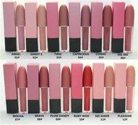 Frete Grátis Maquiagem Lips Matte Lip Gloss Matte Líquido Batom! 12 Cores diferentes Estrela Cosméticos 4.5G