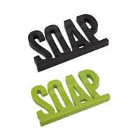 Uchwyt do naczyń do mydła do mydła w kształcie litery bez pozostałej pozostałości z półką mydła wodą z przyssawką Sucker gąbka gąbki do przechowywania naczynia ZA4702
