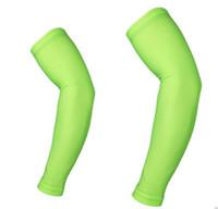 Ücretsiz kargo katı renkler dijital camo kol kollu beyzbol Açık Spor Streç Kol Kol Dirsek Genişletilmiş kol bandı sıkıştırma kollu