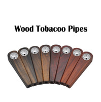 New Wooden Tobacco Pipes Mini Portable Pipes Wood Color High...