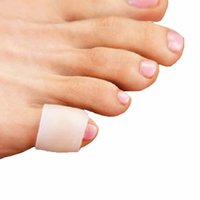 Silikon jel küçük ayak tüpü bunyon guard ayak bakımı pinkie parmak tüp kallus mısır ağrısı kabarcıklar pinkie korur