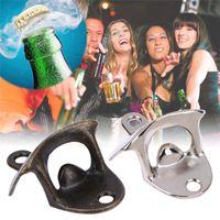 Wand Bieröffner Edelstahl Retro Wand Flaschenöffner Wandöffner Bier The Bar Kitchen Party Supplies