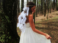 white feather headbands hair headbands for women wholesale f...