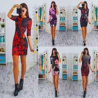 Printing Package Buttocks Maxi Dress Black Clothes Clubwear ...