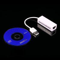 Mac 노트북 PC 용 LAN RJ45 네트워크 카드에 USB를 Freeshipping Windows Vista XP 네트워크 어댑터 카드