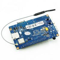Бесплатная доставка M1 + банан Pi M1 + плюс A20 двухъядерный 1 ГБ оперативной памяти на борту WiFi с открытым исходным кодом SBC BPI M1+ с 2db WiFi антенны