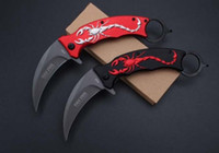 Cold Steel F92 Karambit folding knife 3CR13 blade camping su...
