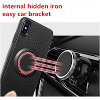 360 Stand Magnetic Car Ring Holder Iface Case Soft TPU Phone...