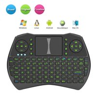 Rii I9 Mini Teclado 2.4 GHz Fly Fly Mouse Game Handheld Touchpad Controle Remoto Para TV BOX Game Play Tablet Mini PC