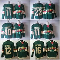 2018 New Cheap Minnesota Wild 22 Nino Niederreiter 11 Zach P...