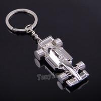 프로 모션 F1 레이싱 카 열쇠 고리, carabiner 키 체인, 남자 반지, 도매 20pcs / lot 스포츠카 열쇠 고리 무료 배송