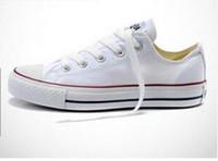 2017 جديد جودة الكلاسيكية المنخفضة الخصر وعالية الخصر قماش عارضة الأحذية الرياضية أحذية الرجال / السيدات قماش أحذية حجم يورو 35-46 التجزئة مجانا دي