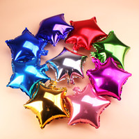 2017 1Piece 18inch Star Shape Aluminium Foil Balloon for Wed...