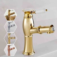 Bathroom Sink Faucets , Contemporary with Chrome Single Hand...