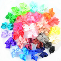 4. 5 Inch Jojo Bows For Babies Handmade Solid Color Bows DIY ...