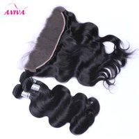8A Ear to Ear Lace Frontal Closures With 3 Bundles Brazilian...