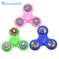 Newest Creative Anti Stress Finger Spin Spinning Gift for Ch...