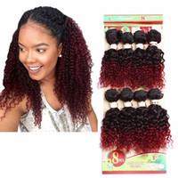 Humano tece 8 pacotes jerry onda para mulheres negras FRETE GRÁTIS 8 pcs onda solta extensão do cabelo brasileiro, mongol cabelo encaracolado trança