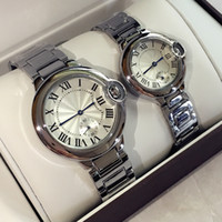 2017 Hot Sale Fashion lady watches man women wristwatch silv...