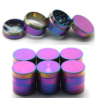Hot Sale Rainbow Grinders Zinc Alloy Metal Grinders 40 50 55...