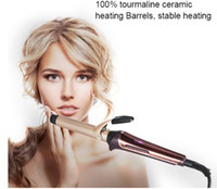 professional electric heating hair curling iron roller wave ...
