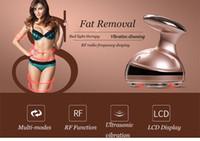 Potável RF Cavitação Ultra-sônica LED Corpo Massageador de Emagrecimento Queimador de Gordura Anti Celulite Lipo Massagem de Rádio de Freqüência Dispositivo de Beleza