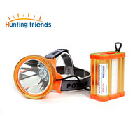 Hunting friends New Separate Style LED Headlamp 18650 Headli...