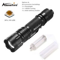 AloneFire TK105 Led 18650 Taschenlampe CREE XPL V6 Zoomable Taschenlampe AAA Zoom wasserdicht 5-fach Blitzlichter Zooming LED Flashlight