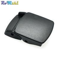 """10pcs / lot 1 """"Hebilla de leva Hardware de plástico Cinturón Cinturón Mochila Deslizador Toggle Clip Broche Accesorios de maleta de viaje"""