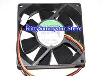8cm KD1208PTS1 13.GN 12V 1.8W 2Wire 3Wire Case Fan