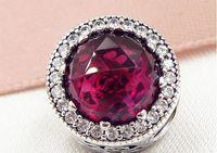 Il branello di fascino di Radiant Rose della molla dell'argento sterlina 925 della primavera 2017 con Cz libero misura i braccialetti europei dei gioielli di Pandora