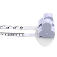 Calda vendita 200pcs / lot # Accurate Dieta Fitness Caliper Misuratore Vita in corpo Misura di trasporto libero