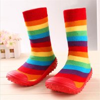 0- 2 years old baby socks for newborns rubber non- slip Soft B...